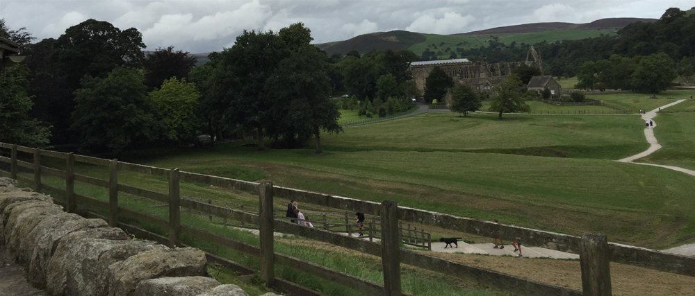Visiting the Bronte Sisters - Bolton Abbey ruins